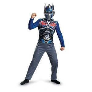 Optimus Prime Transformers Boys Jumpsuit Size S